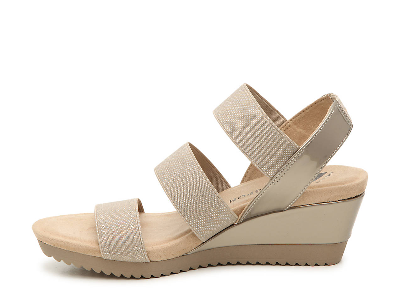 6cacd185160 Anne Klein Shelly Wedge Sandal Women s Shoes