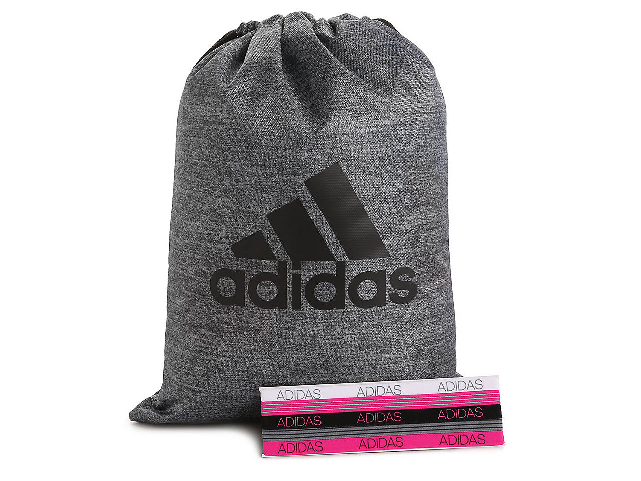 cc056f470dcb DSW Exclusive Free Adidas Drawstring Bag with Headbands Women s ...