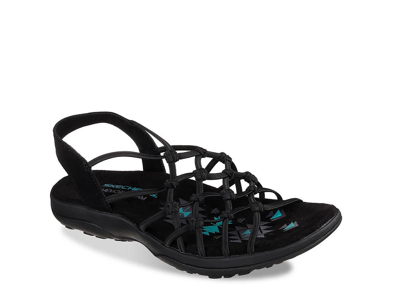 903eac0d8654 Skechers Reggae Slim Forget Me Knot Sandal Women s Shoes