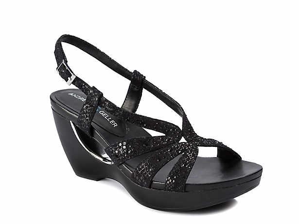 938f495b72e9 Skechers Cali Rumblers Sparkle On Wedge Sandal Women s Shoes