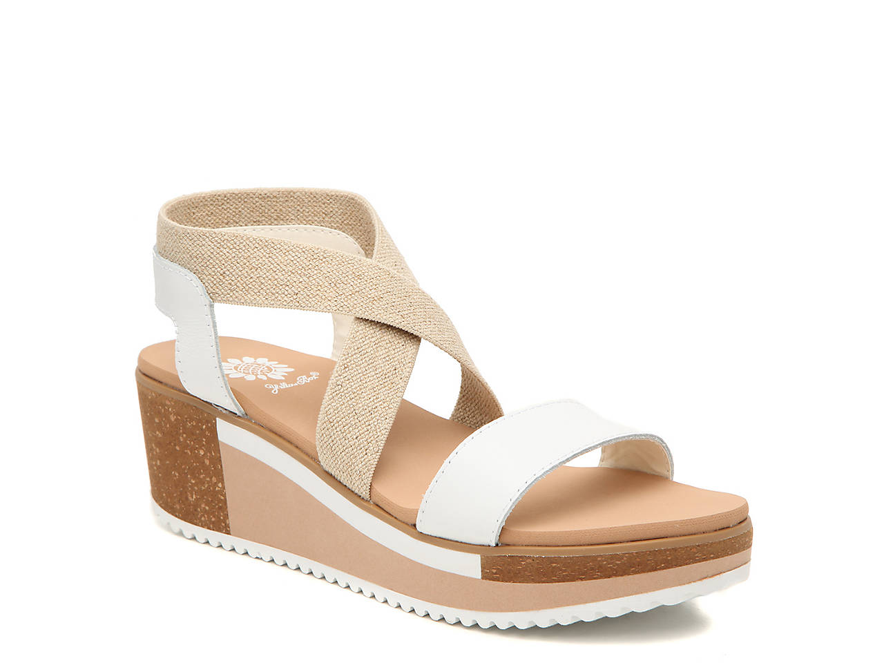 f40384208f3db Yellow Box Janalee Wedge Sandal Women's Shoes | DSW