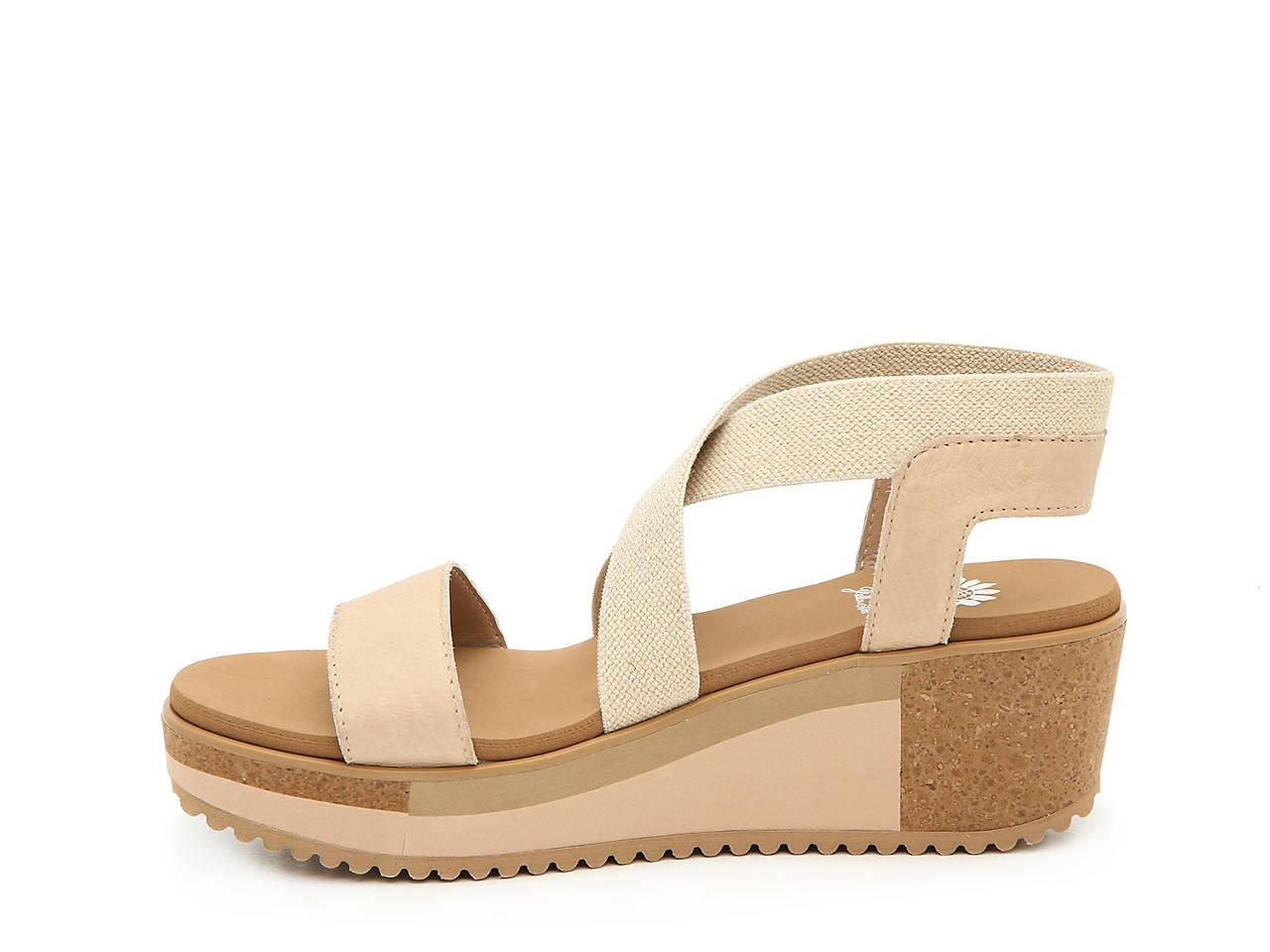 b56159e86696 Yellow Box Janalee Wedge Sandal Women s Shoes