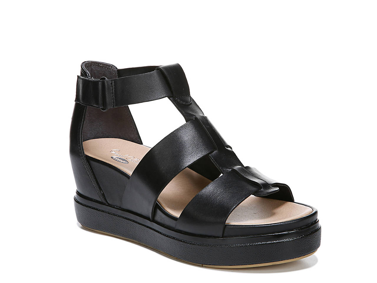 Saffron Wedge Sandal by Dr. Scholl's