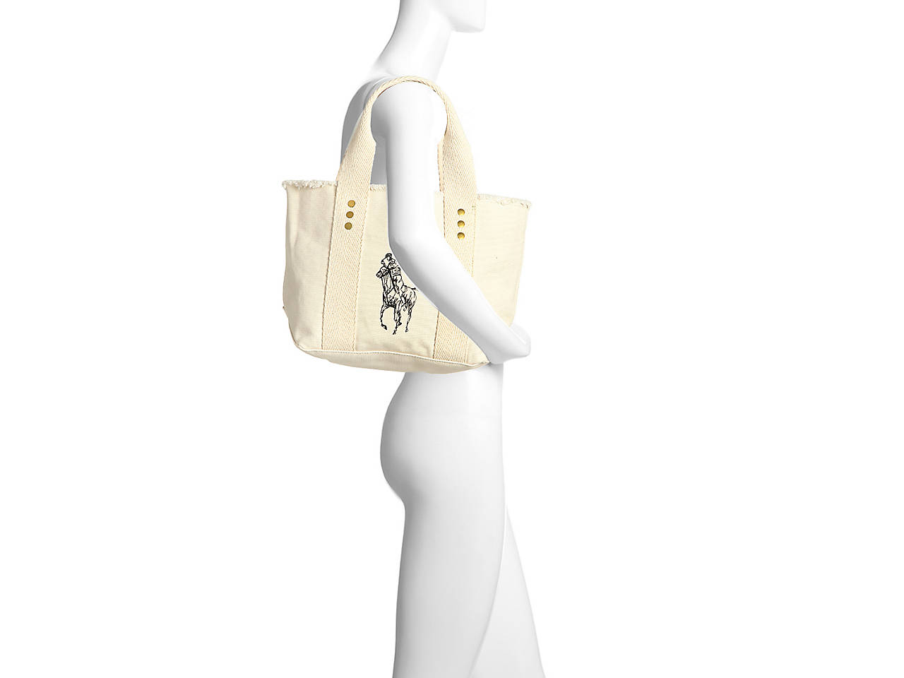 Polo Ralph Lauren Frayed Mini Tote Women s Handbags   Accessories  76e6d9de5bbd5
