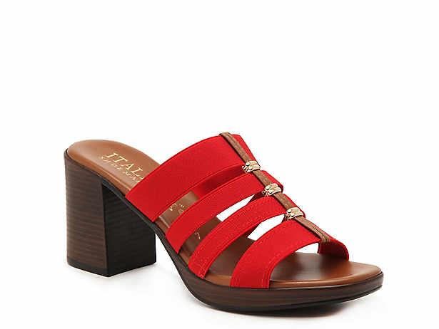 5fb972d12107 Italian Shoemakers. Meryl Sandal