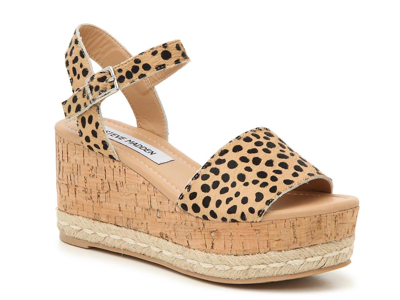 be4aef7b2194 Steve Madden Prima Espadrille Wedge Sandal Women s Shoes