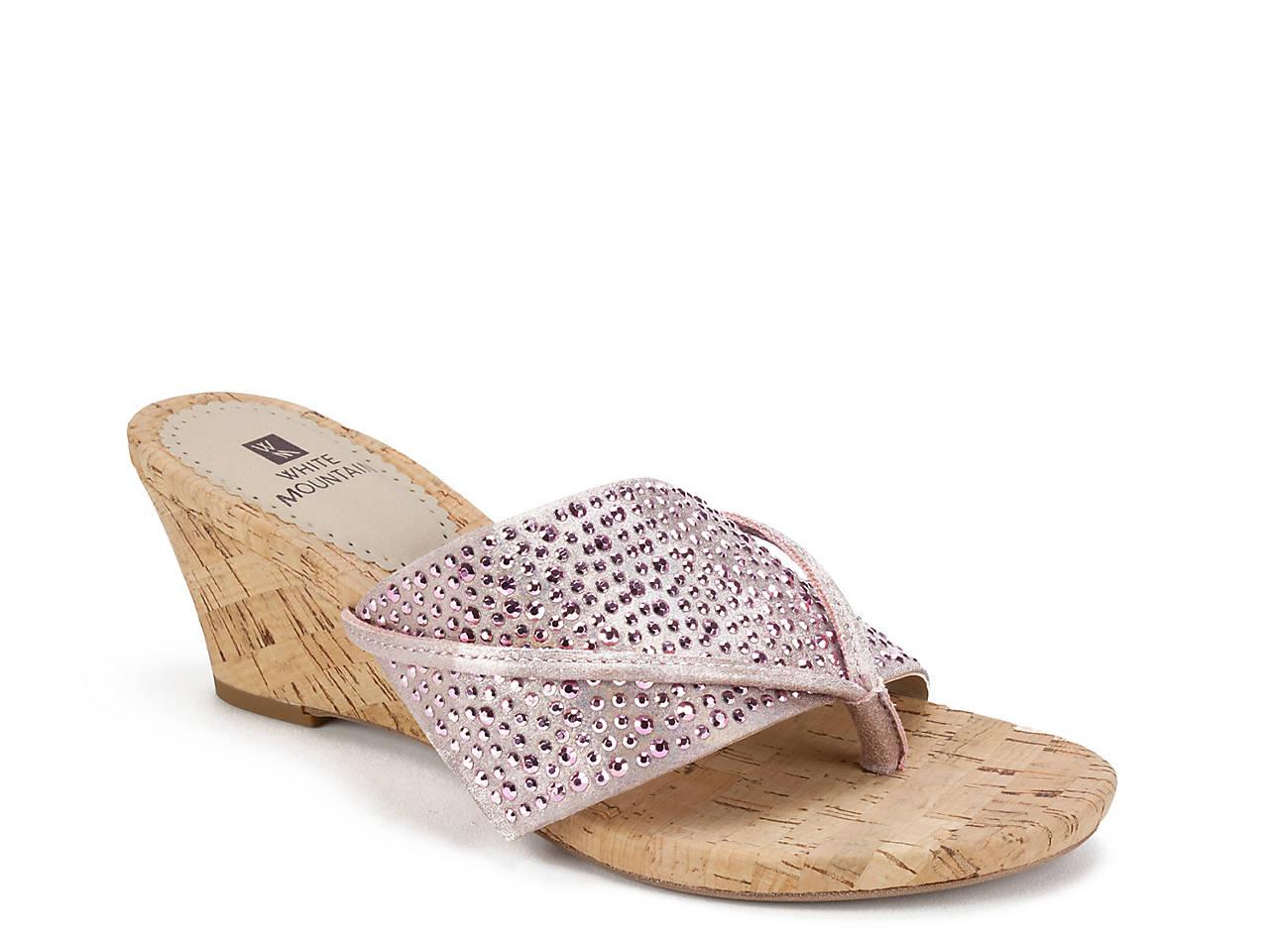 b0df997da White Mountain Alexandria Wedge Sandal Women s Shoes