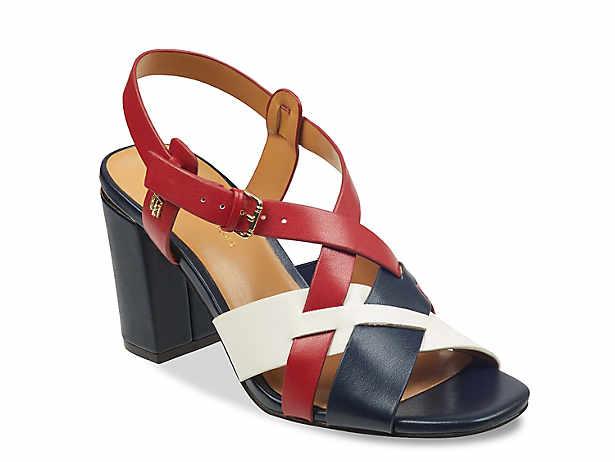 261587f7fe1 Tommy Hilfiger Katz Block-Heel Dress Sandals