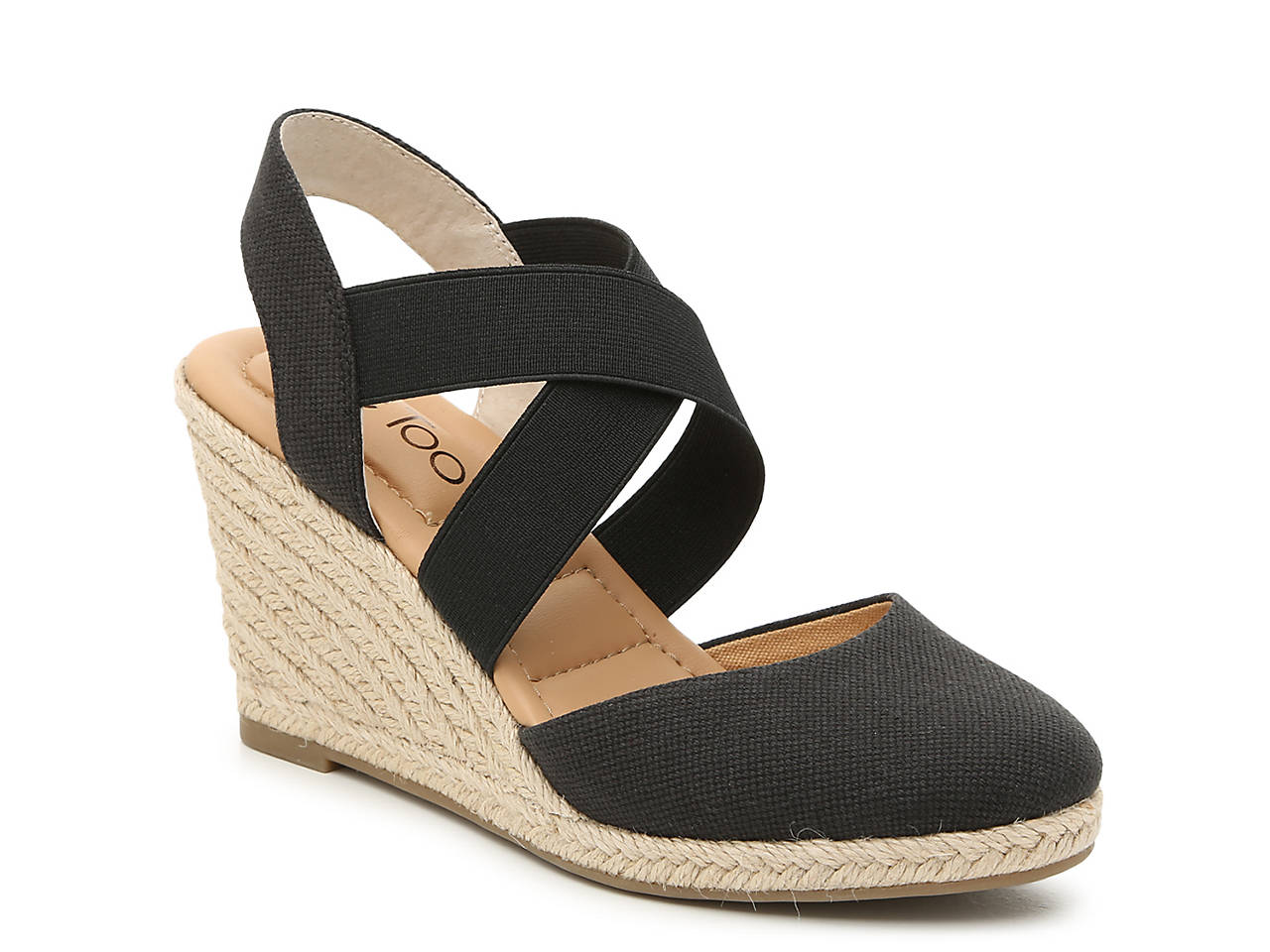 0222e4f1df9 Adam Tucker by Me Too Brayden Espadrille Wedge Sandal Women s Shoes ...