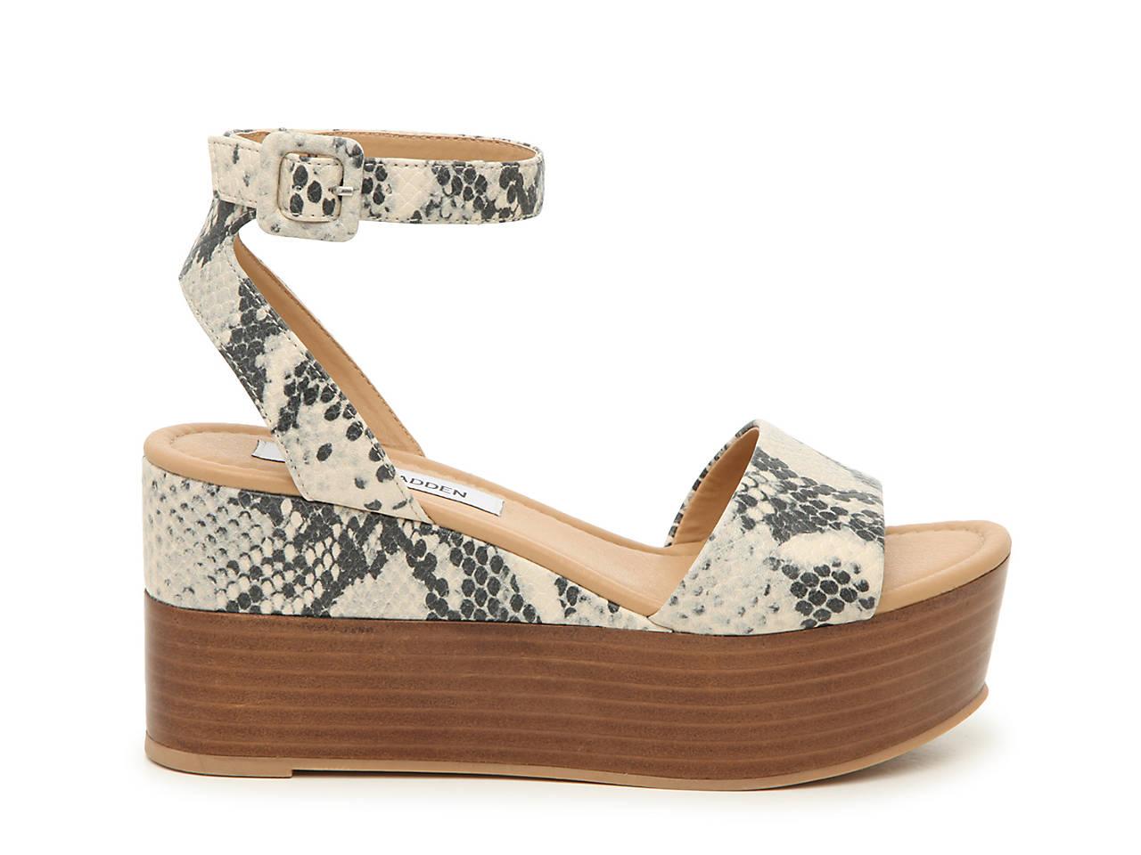 4fde6fcabc5e Steve Madden Zilya Wedge Sandal Women s Shoes