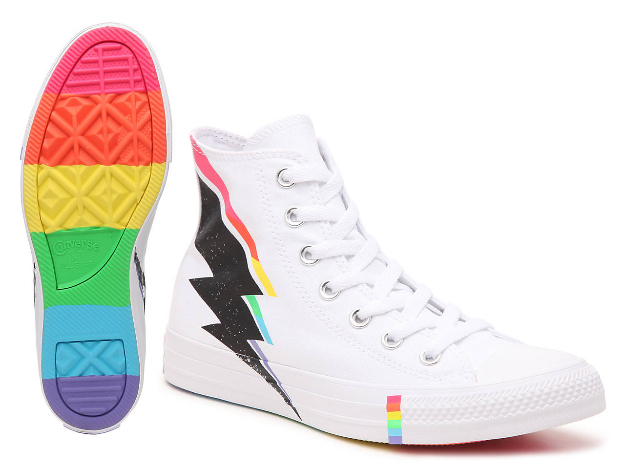 save off dd0b7 464b7 Chuck Taylor All Star Pride High-Top Sneaker