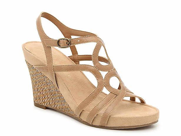 750496bd60c Kelly   Katie. Plushin Wedge Sandal