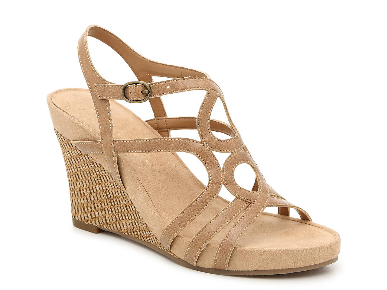 7776b1f97305 Kelly   Katie Plushin Wedge Sandal Women s Shoes