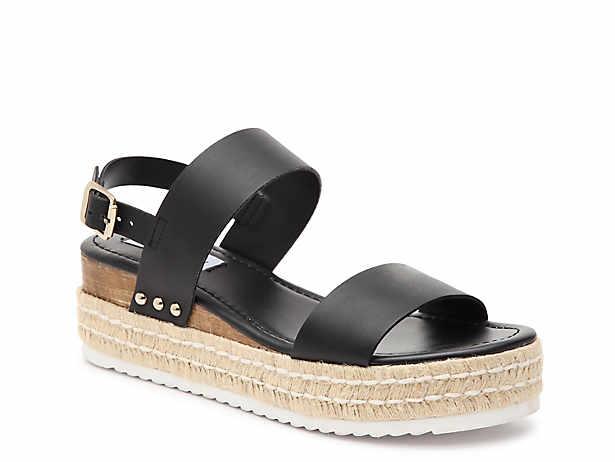 5ca1c2cc514 Steve Madden Kimmie Espadrille Wedge Sandal Women's Shoes | DSW