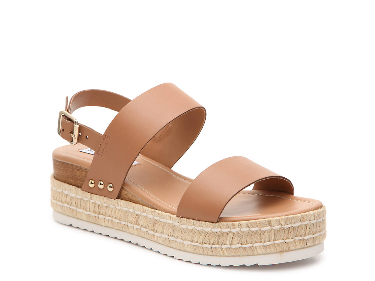 7909722340 Steve Madden Catia Espadrille Wedge Sandal Women's Shoes | DSW