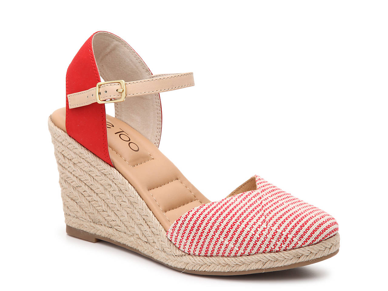 0d46c56adb Me Too Bali Espadrille Wedge Sandal Women s Shoes