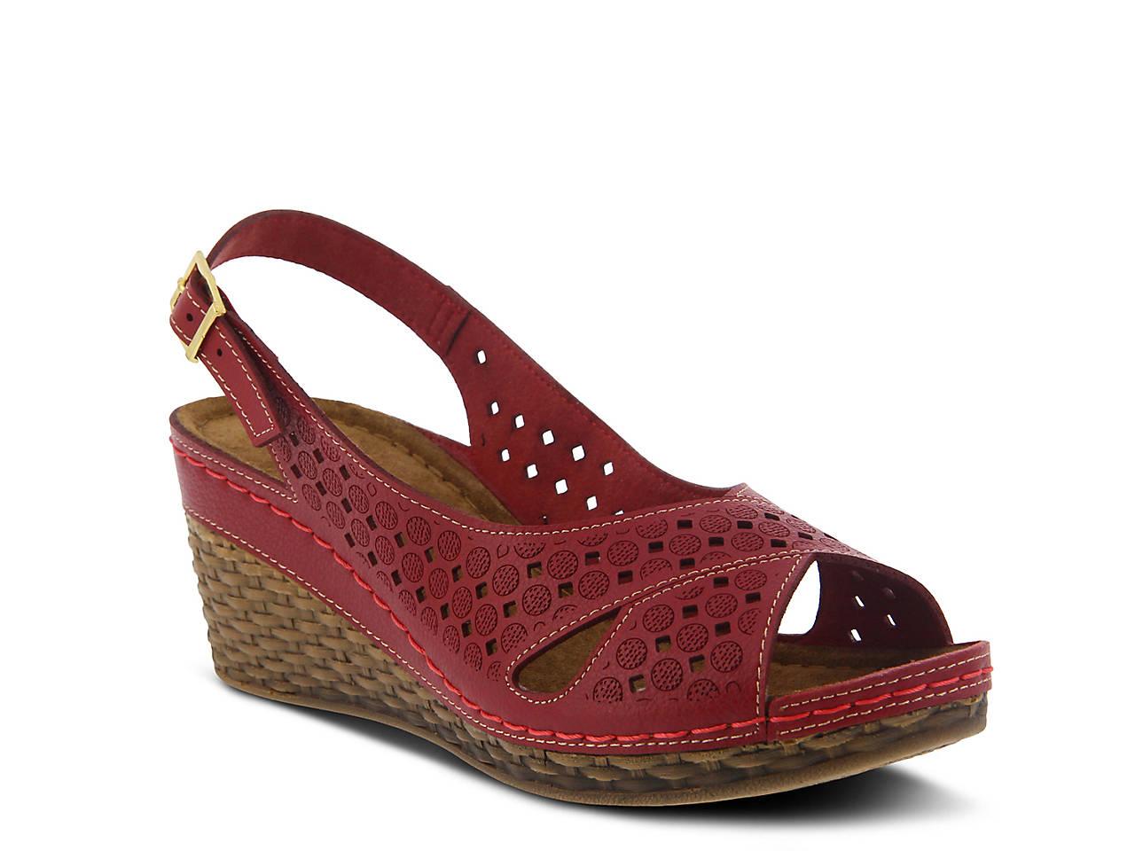 451f0e15262a Flexus by Spring Step Michalis Wedge Sandal Women s Shoes