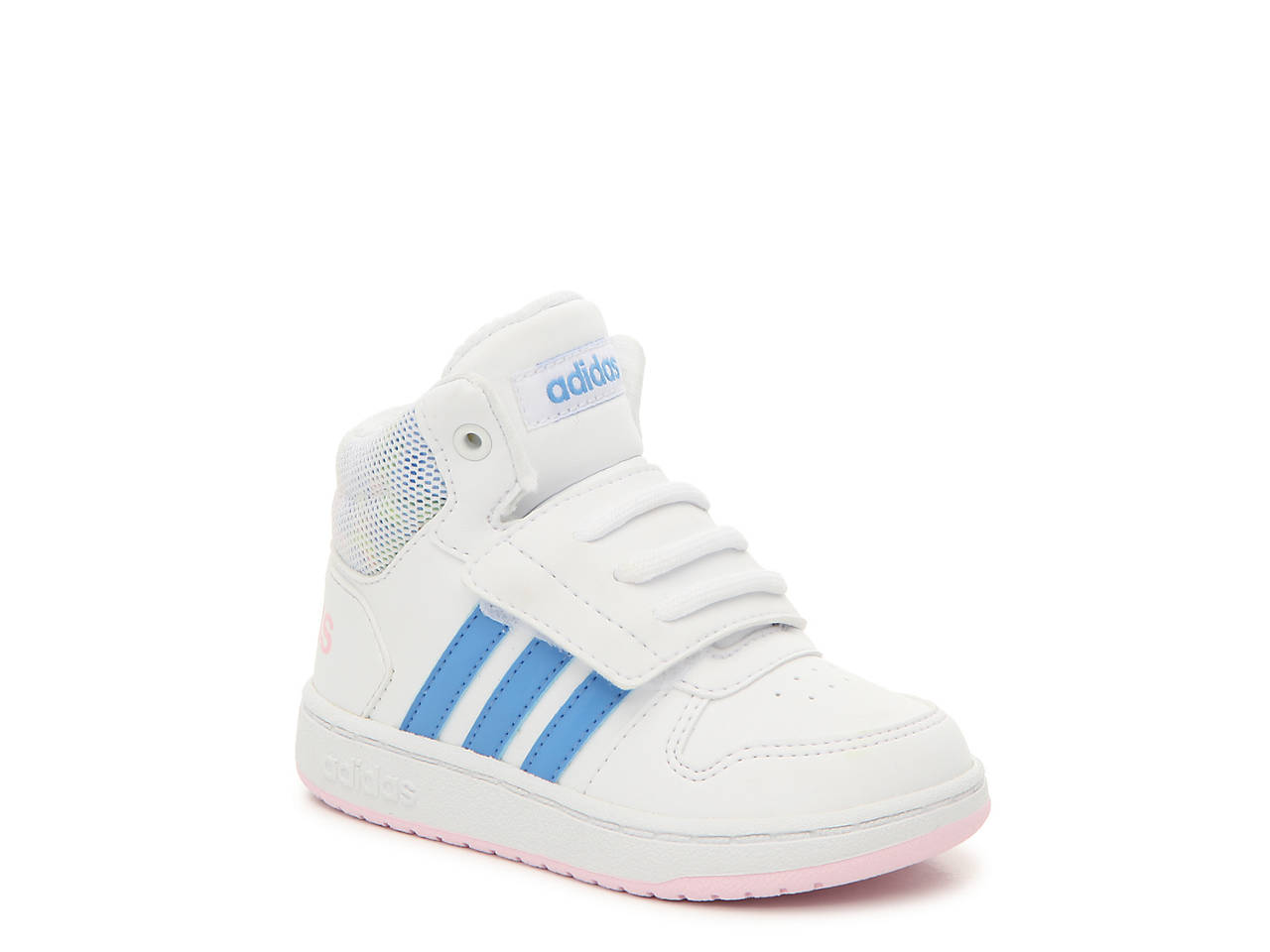 0f0c10729 adidas Hoops Mid 2.0 Infant & Toddler High-Top Sneaker Kids Shoes | DSW
