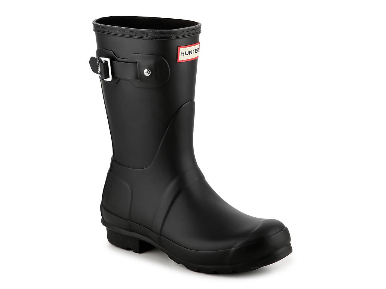 c363eb270aef HUNTER Original Short Matte Rain Boot Women s Shoes