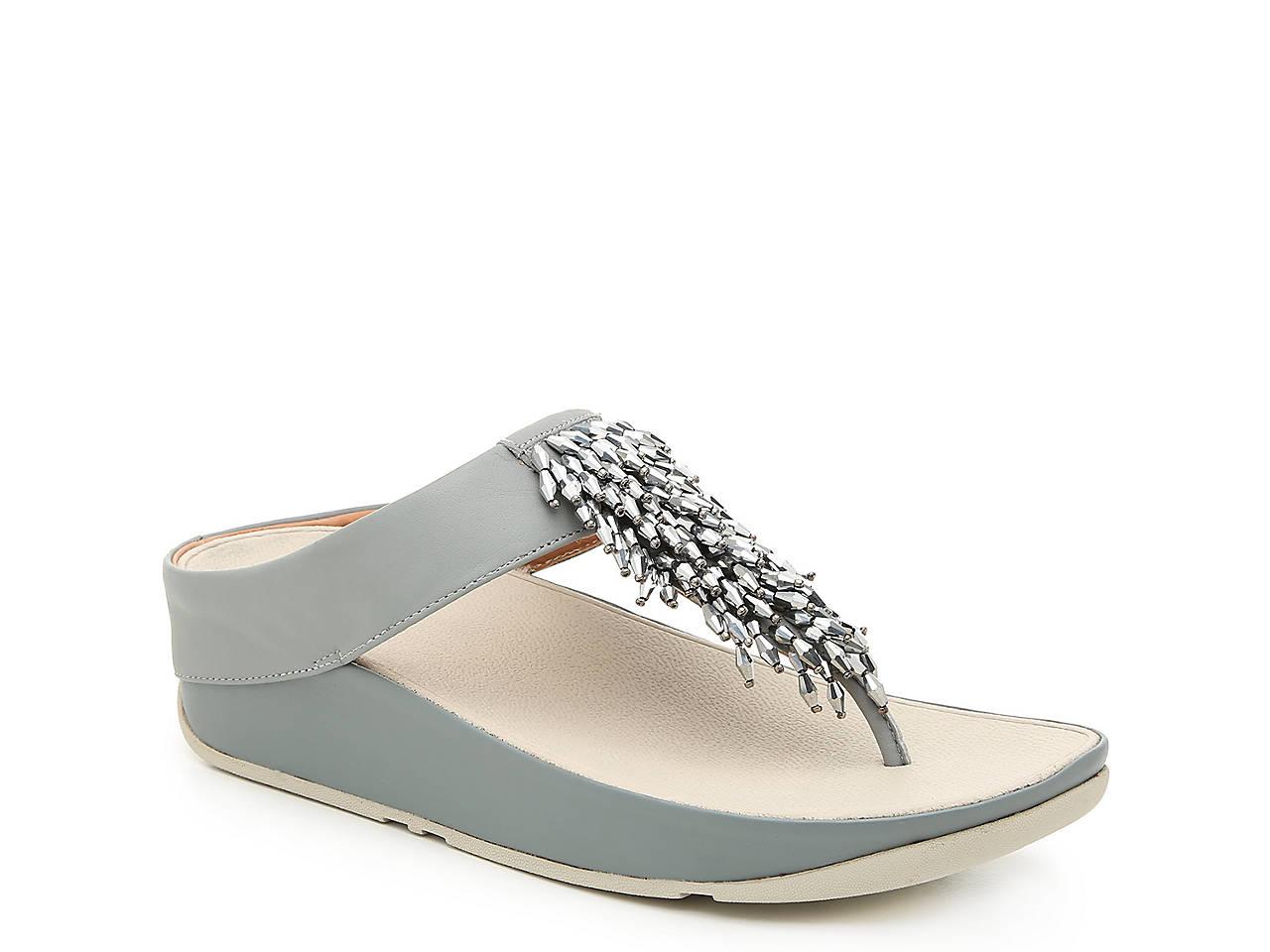 7b0d9bde5d72 FitFlop Rumba Wedge Sandal Women s Shoes