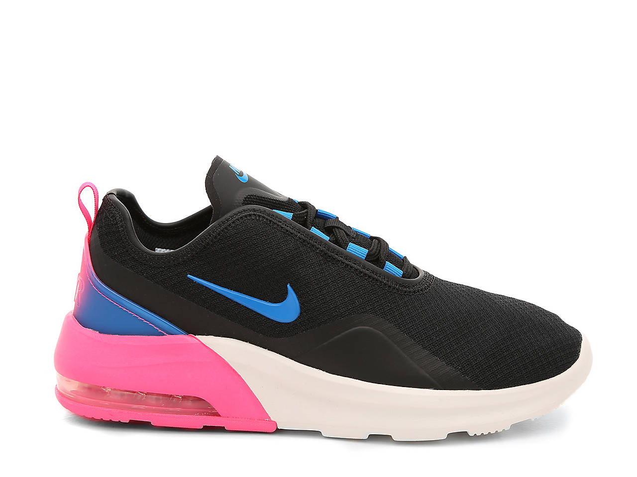 Nike Air Max Motion sneakers sort m. pink