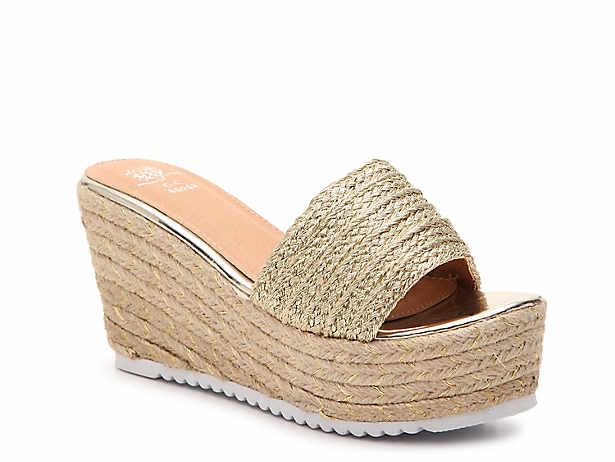 976bb700efd GC Shoes. Flo Espadrille Wedge Sandal