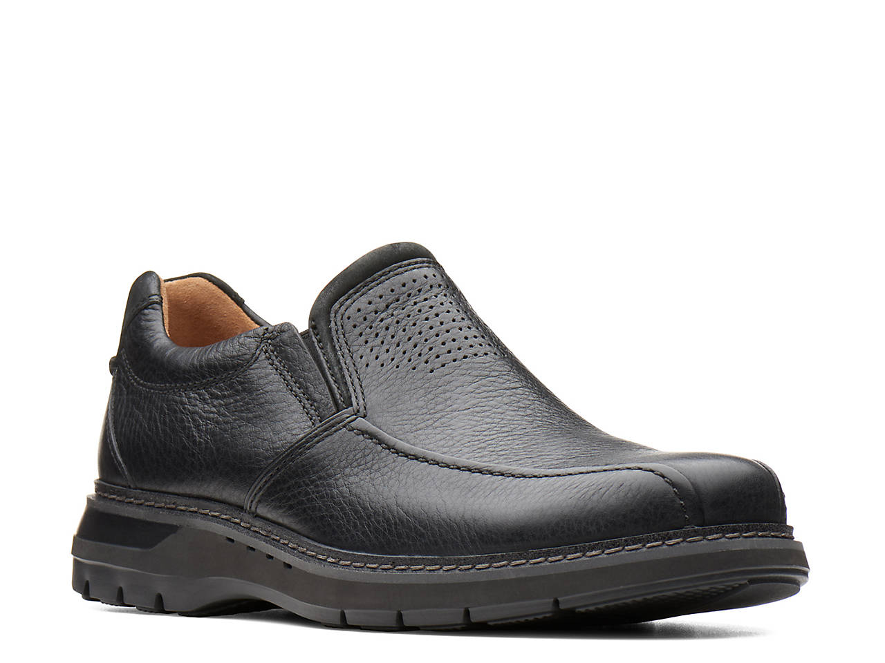 e7ded4ae Clarks Unstructured Un.Ramble Step Ro Slip-On Men's Shoes | DSW