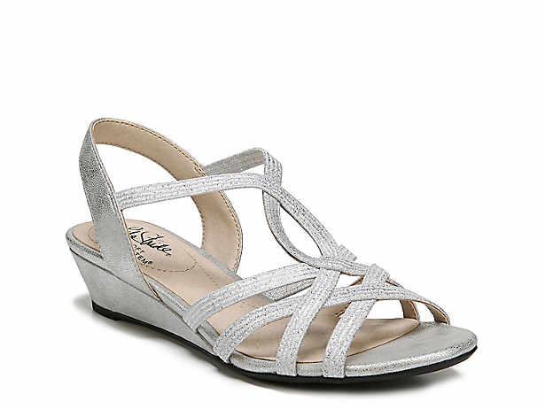 39906ce6a0d Silver. Low Heel  1