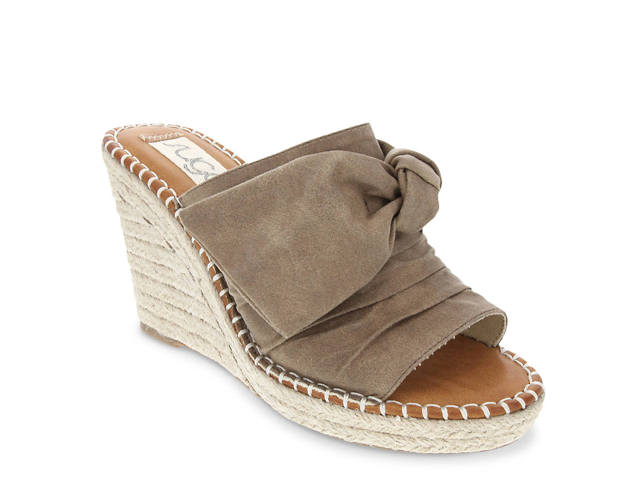 769133a74db2 Sugar Hundreds Espadrille Wedge Sandal Women s Shoes