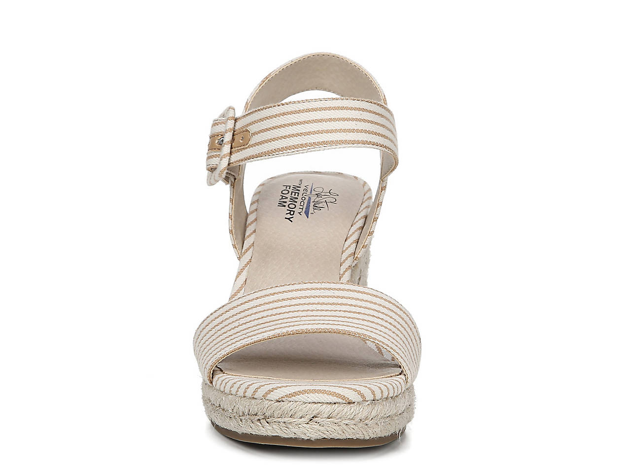 144cf953470d LifeStride Tango Espadrille Wedge Sandal Women s Shoes