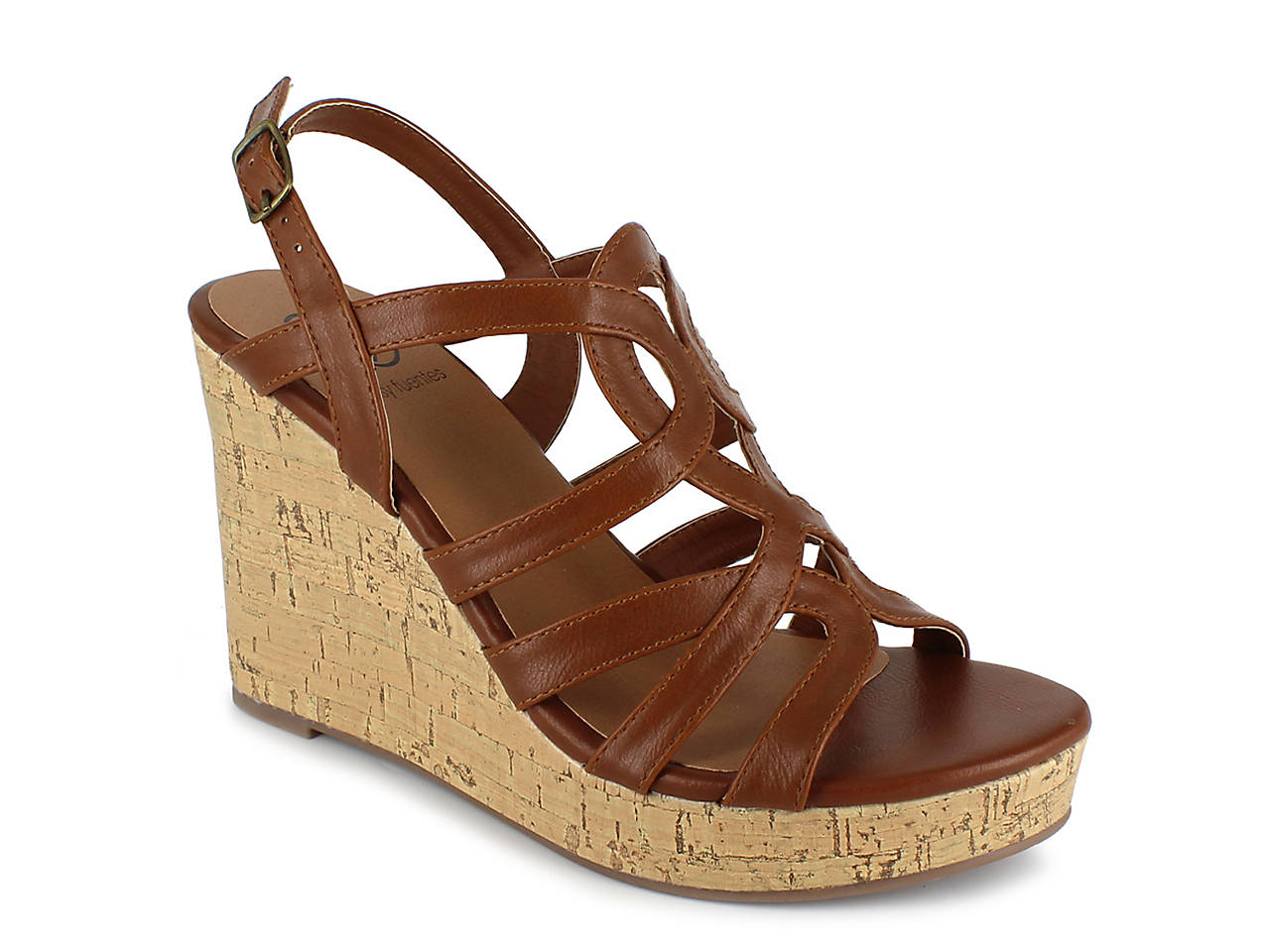 22f7f886004 Daisy Fuentes Susie Wedge Sandal Women s Shoes
