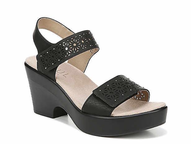 26217ec2bd1b Natural Soul Kaila Wedge Sandal Women s Shoes