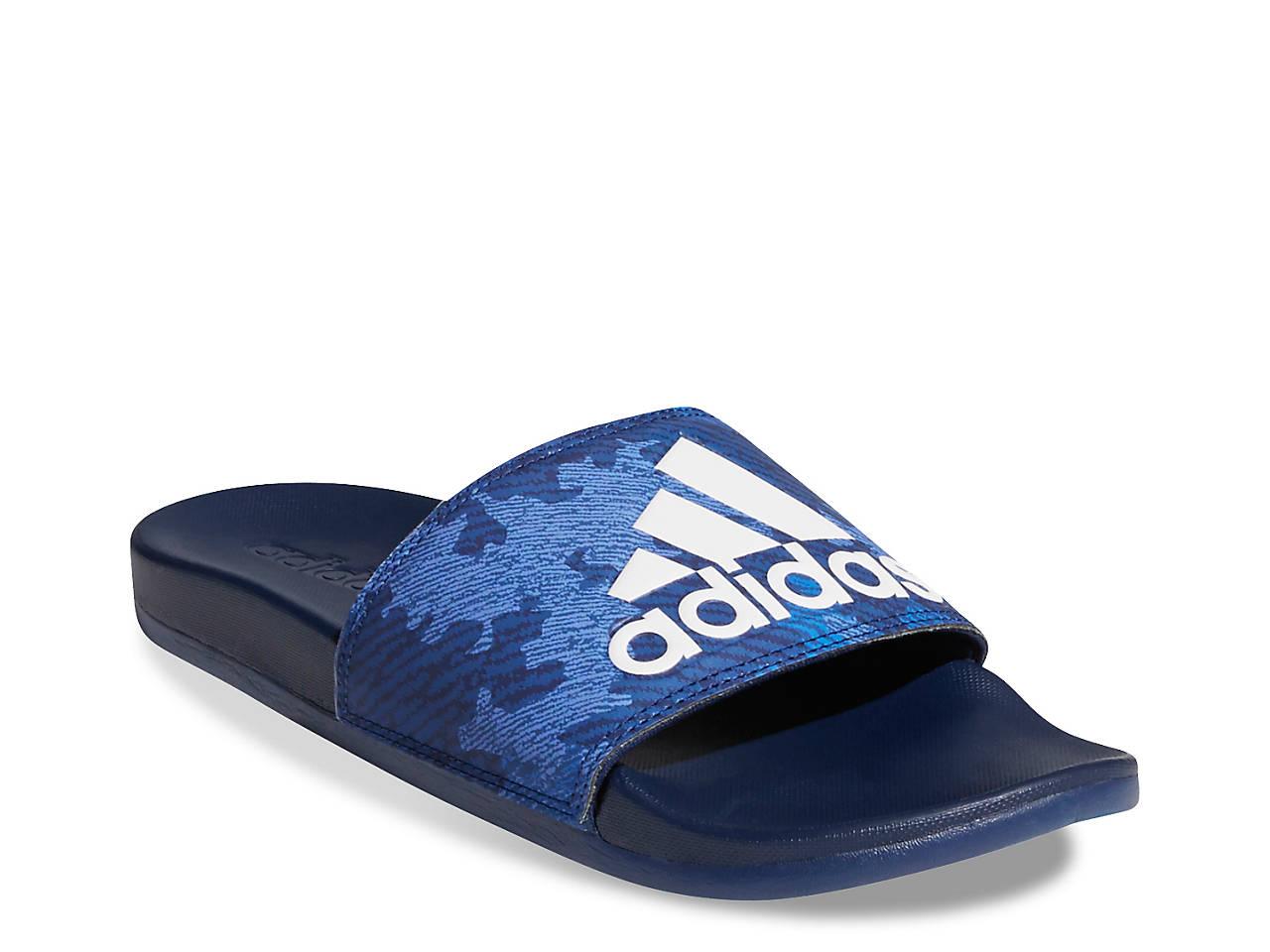 Adidas Adilette By blue sandals
