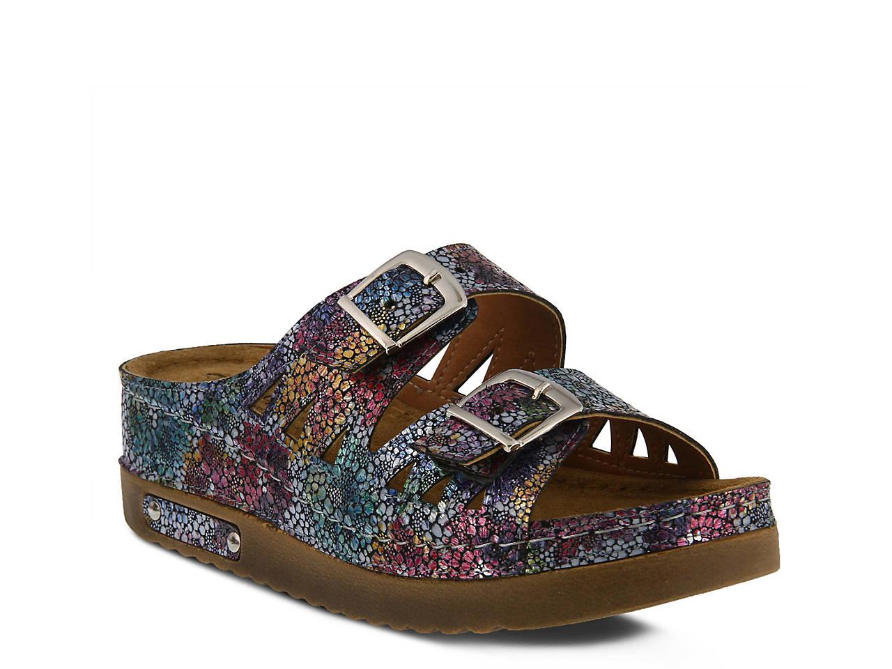 09341d79194d Flexus by Spring Step Delsie Wedge Sandal Women s Shoes