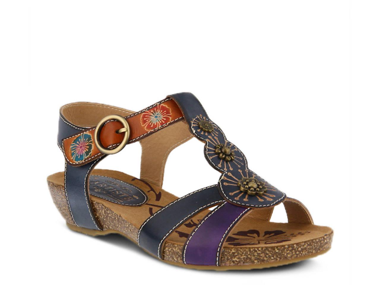 8c3484db740 L Artiste by Spring Step Hemlock Wedge Sandal Women s Shoes