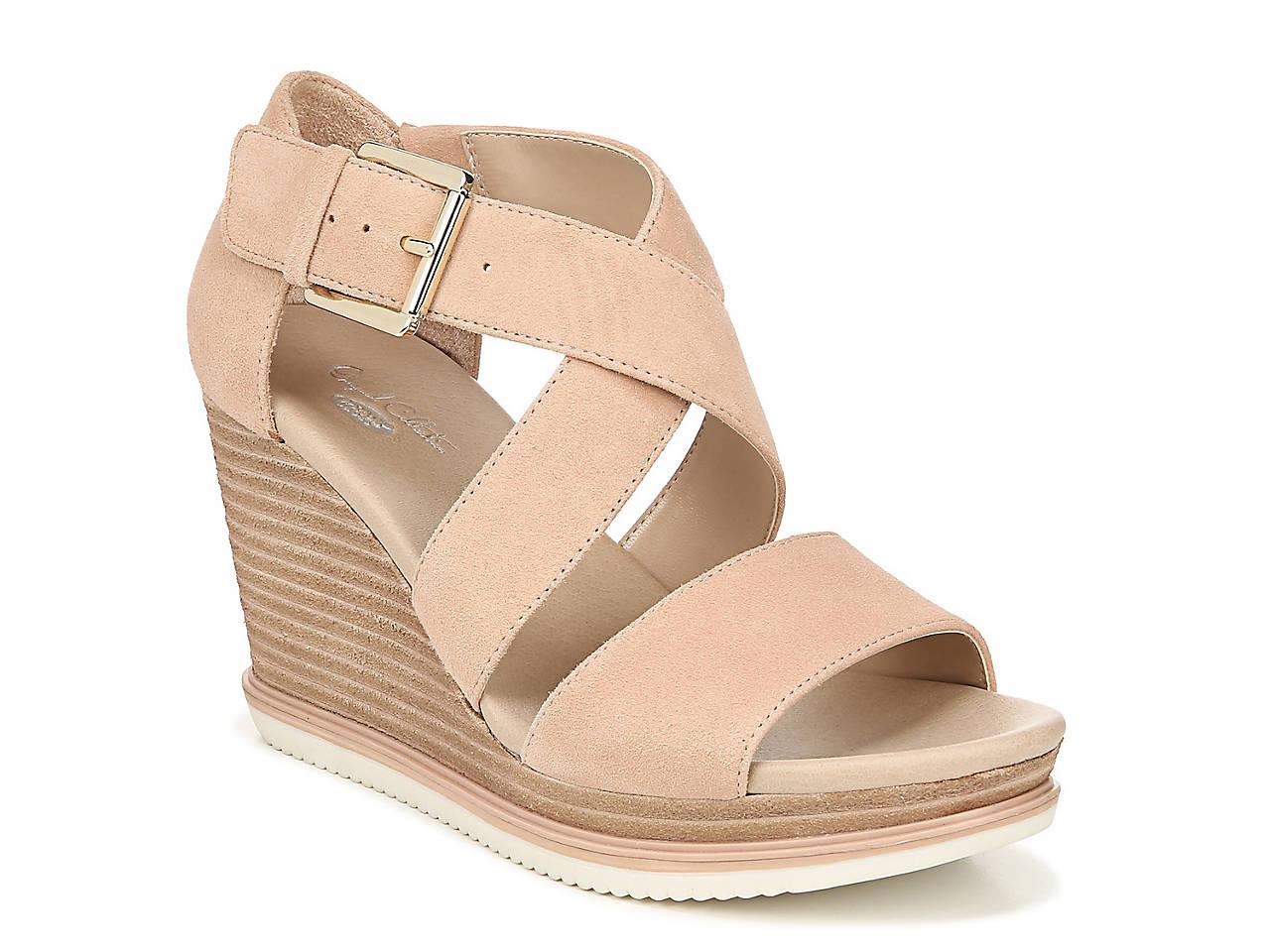 2d4bb53d60f Dr. Scholl s Sweet Escape Wedge Sandal Women s Shoes