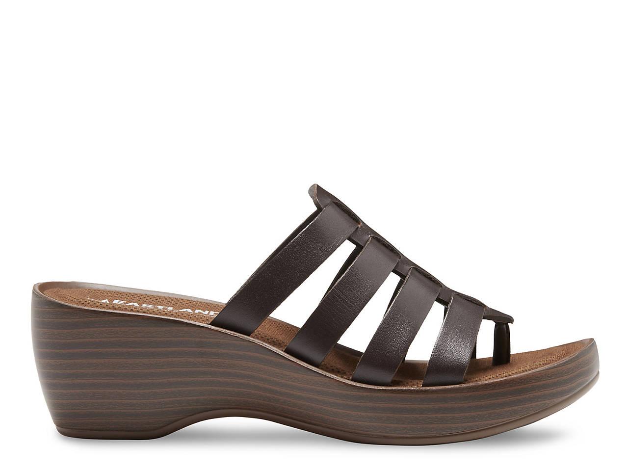 Eastland Topaz Wedge Sandal Women S Shoes Dsw