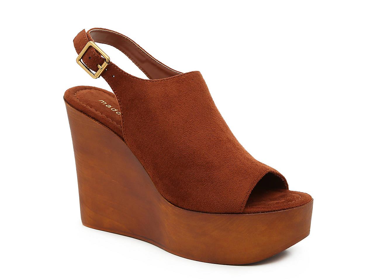 751bfd073fde Madden Girl Cambur Wedge Sandal Women's Shoes | DSW