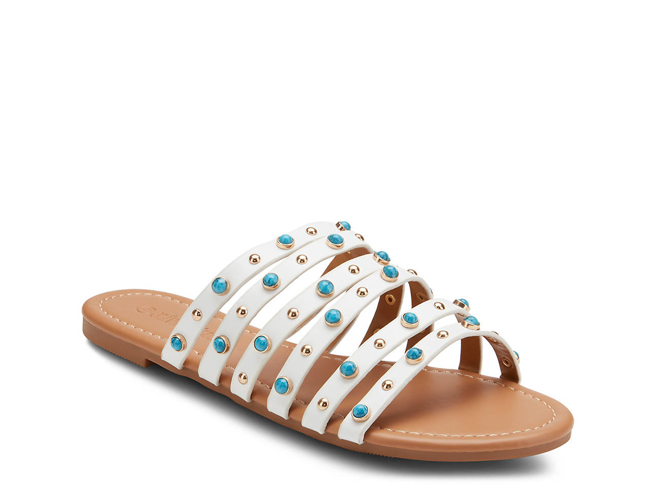 44362b1032366 Olivia Miller Dreamer Sandal Women s Shoes