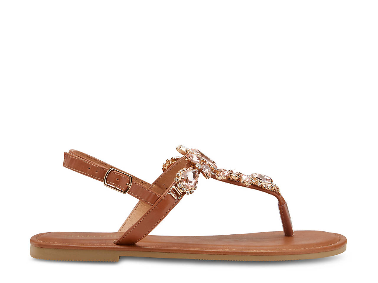 5950a2284a9 Olivia Miller Lux Sandal Women s Shoes