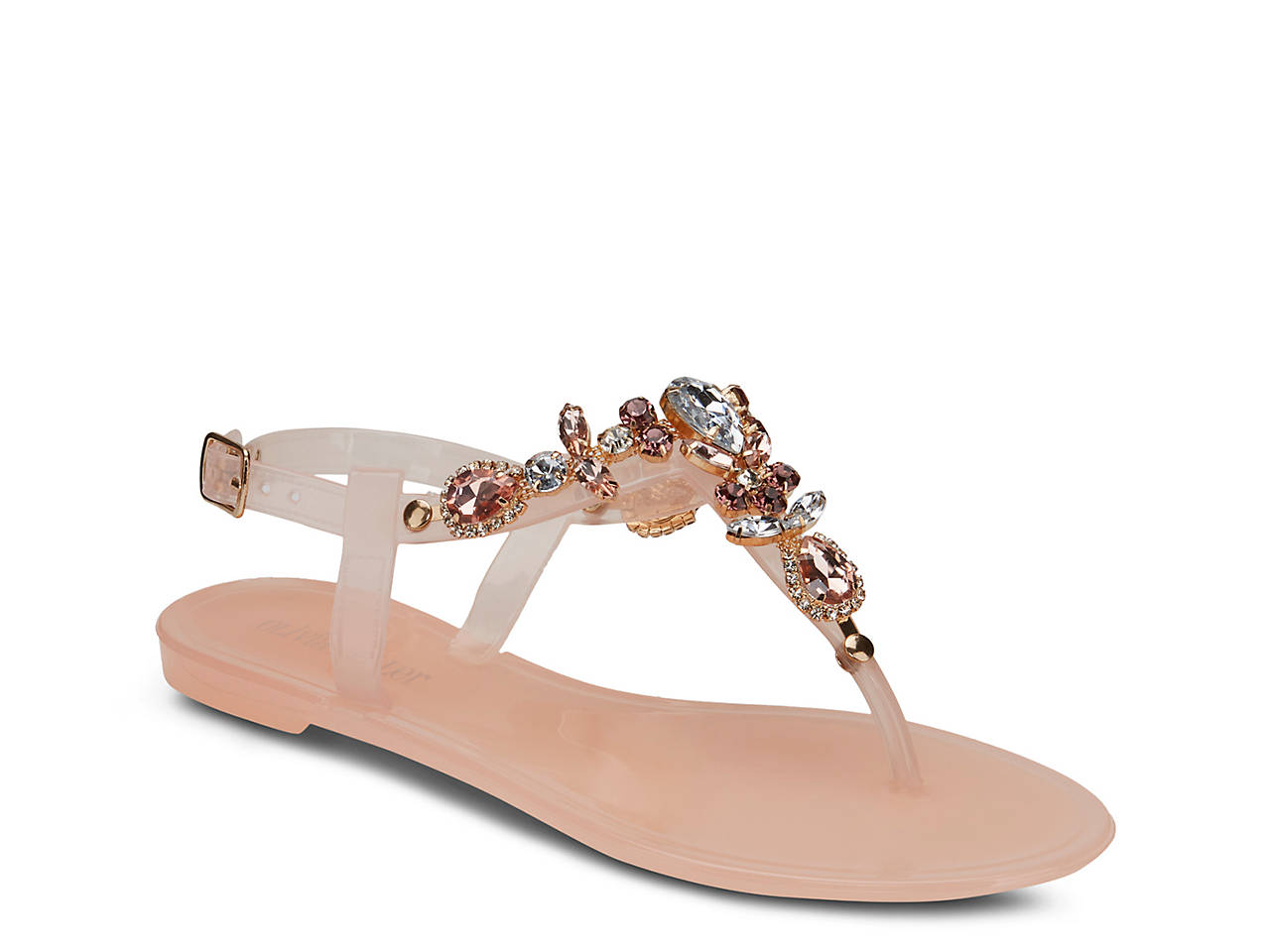 b589f8f892573 Olivia Miller Pop Rox Jelly Sandal Women s Shoes