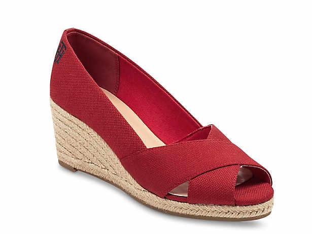 d98c3b356ed Lauren Ralph Lauren Cecilia Wedge Pump Women's Shoes | DSW