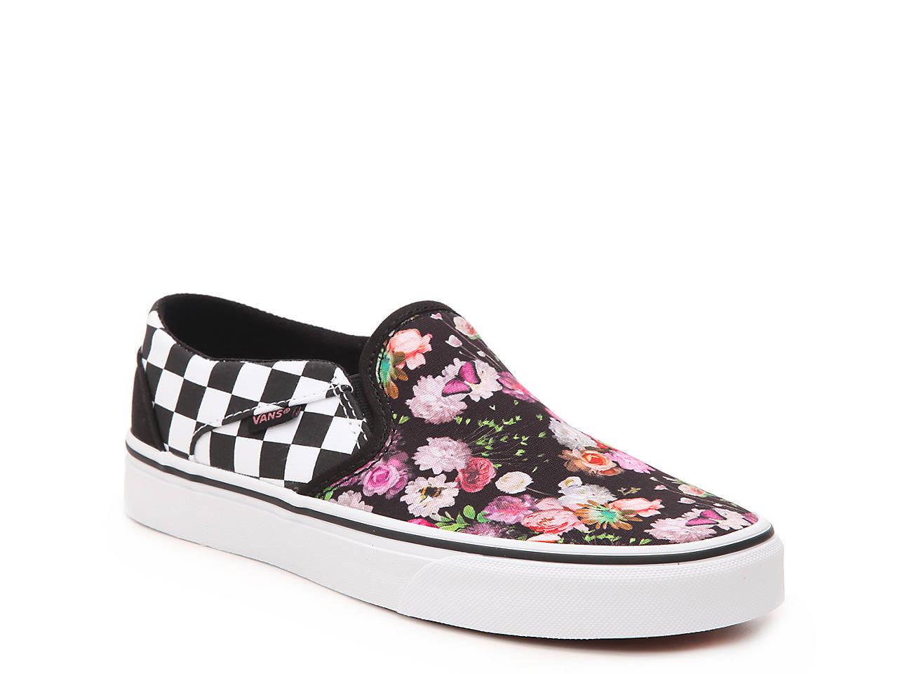 vans asher floral