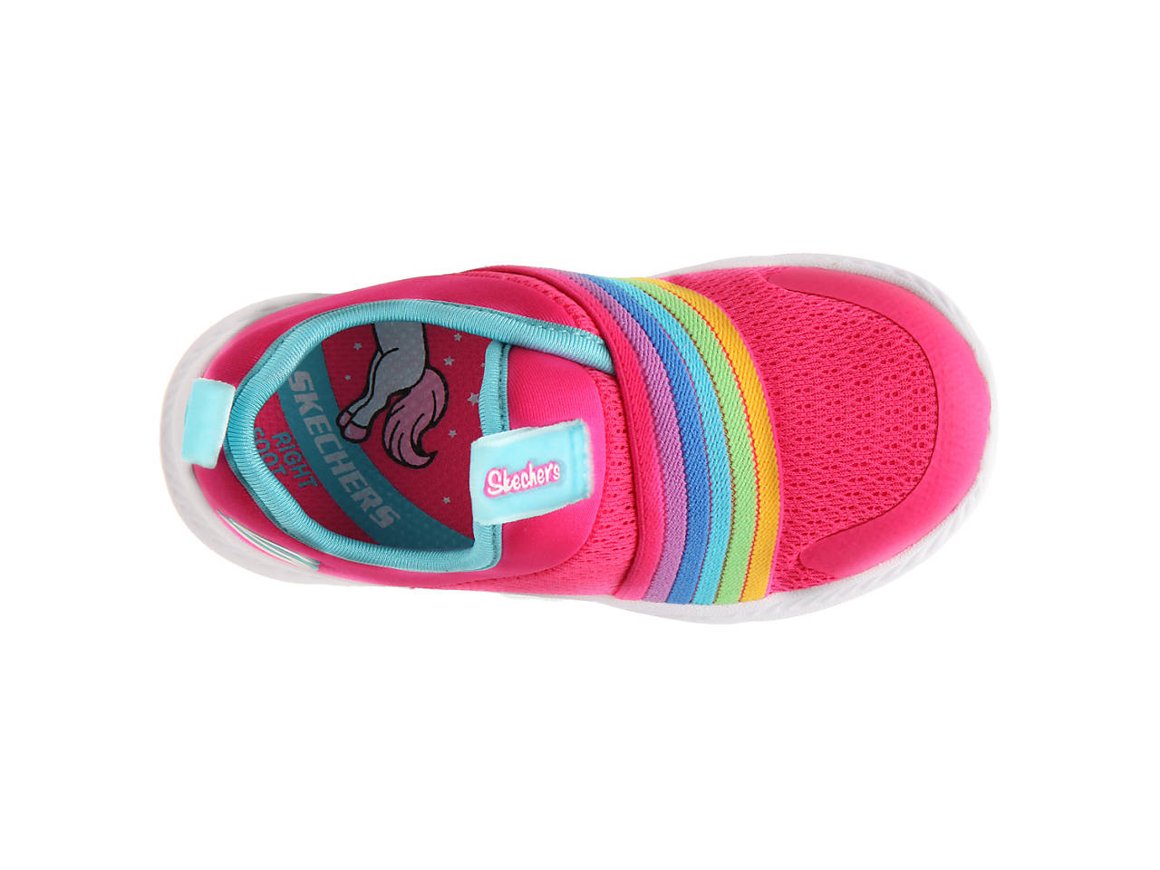 Comfy Flex 2.0 Rainbow Delight Slip On Sneaker Kids'