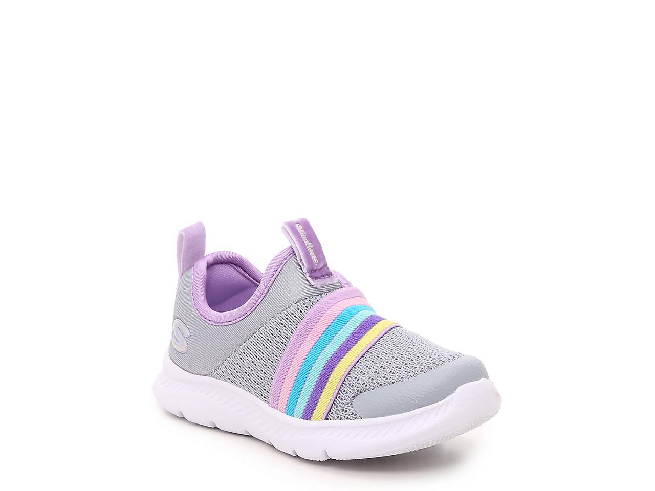 Skechers Comfy Flex 2.0 Rainbow Delight Slip On Sneaker