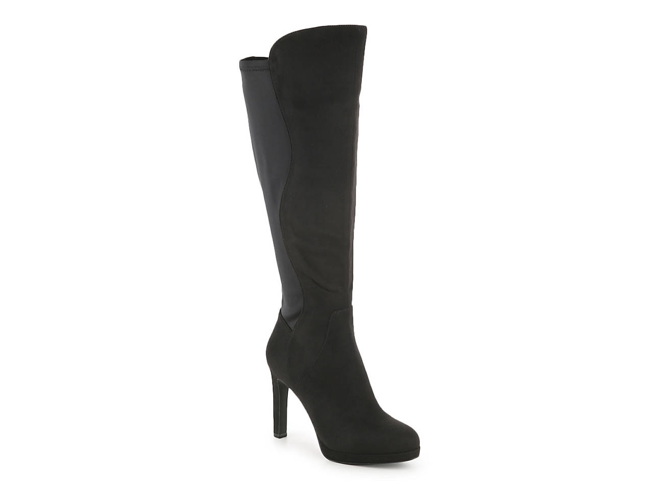closer at custom best sale Isodon Wide Calf Platform Boot