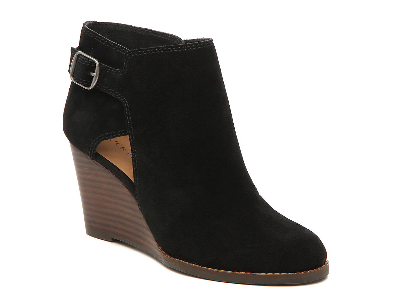 c408fb75bfd8 Lucky Brand Yesrah Bootie Women's Shoes | DSW