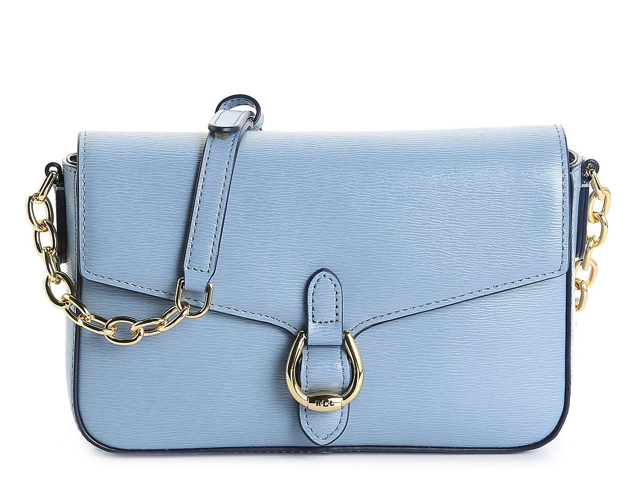 32cc4b074 Lauren Ralph Lauren Bennington Leather Crossbody Bag Women's ...