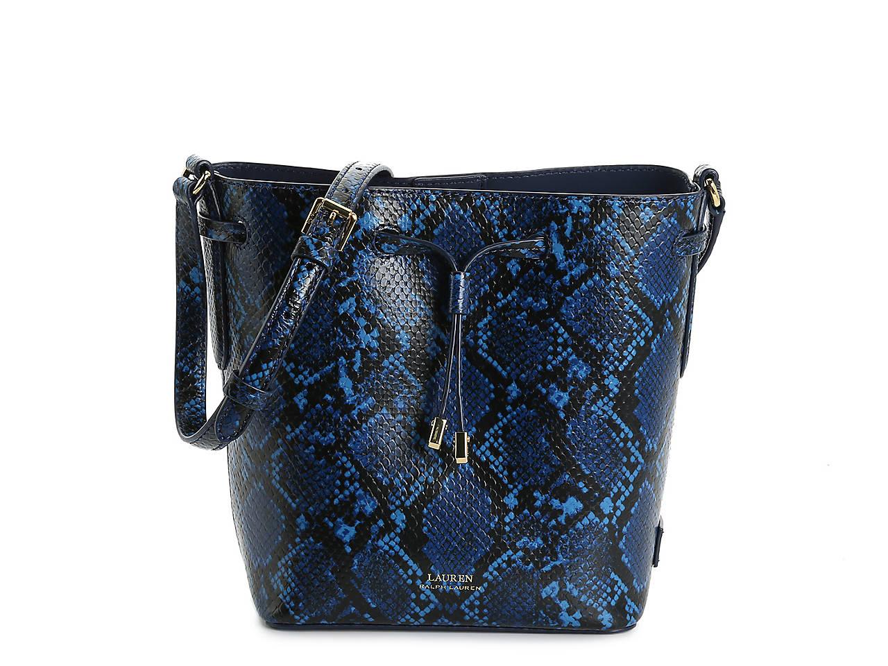 9c8d858f8292 Lauren Ralph Lauren Dryden Derby II Leather Crossbody Bag Women s ...
