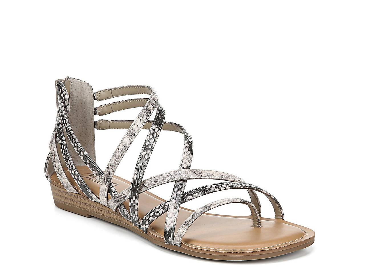 23fd590ae611 Carlos by Carlos Santana Amara Gladiator Wedge Sandal Women s Shoes ...